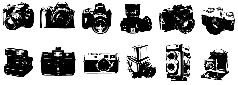 Photoshop Custom Camera Shapes
