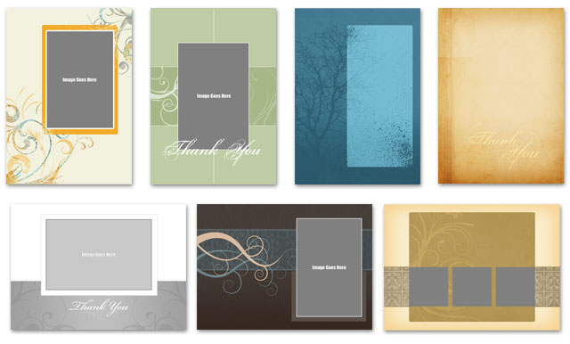 Multipurpose 5x7 PSD Greeting Card Templates