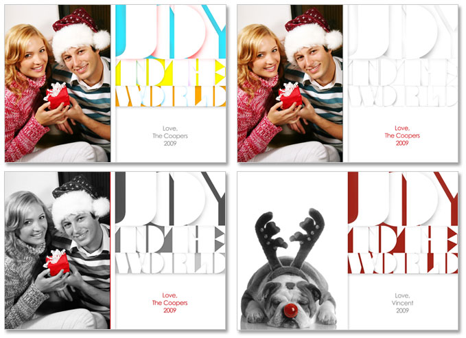 5x7 psd holiday greeting card template modern joy m4hsunfo