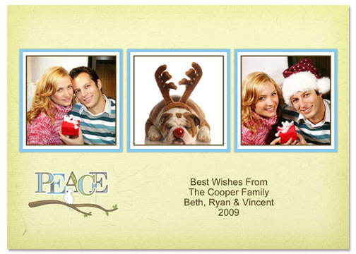 5x7 Greeting Card Template - 53E015-S