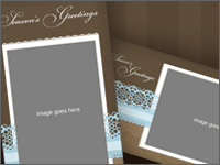Seasons Greetings Card Templates